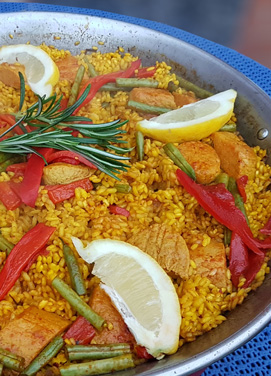 Quorn Meat-free Paella